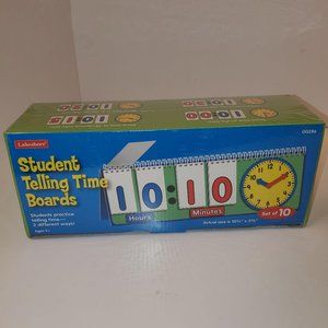 NEW SEALED Lakeshore Student Telling Time Boards f